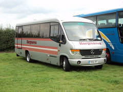 Hargreaves Coaches of Skipton YN56ORT (yorkcoach2) Tags: york skipton hargreaves mercedes plaxton cheetah yn56ort races racecourse raceday