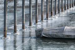 Frozen (Guy Goetzinger) Tags: boat goetzinger nikon d850 ice frozen bodensee hafen harbor bateau schiff port 2018