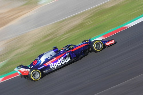 Brendon Hartley in Formula One Winter Testing