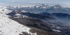 Prealpi Lombarde (Marco MCMLXXVI) Tags: como lake triangololariano monte palanzone legnone grigna grigne prealpi alpi alps mountain summit cumbre view panorama scenery landscape nature winter inverno hiking escursionismo backpacking natura mist sony ilce6000 a6000 pz1650 darktable mountainridge ridge cliff crag snow italy mountainside sky canyon vantagepoint cima