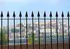 A Fence in Porto (Colorado Sands) Tags: fence wroughtiron hff porto portugal europe sandraleidholdt city oporto douro northernportugal riverside pointed