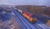 Leaving Carlisle. (Dave McDigital) Tags: 56 class56 grid 56114 ews englishwelshandscottishrailway jarrow stanlow petroleum londonroad