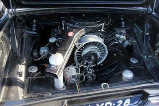 1977 Tatra 613 'Chromka': the engine