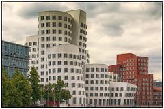 001 NBS Mediahafen Düsseldorf_HDR2 Nik (nbrausse) Tags: archtektur deutschland düsseldorf länderstädte mediahafen modernearchitektur