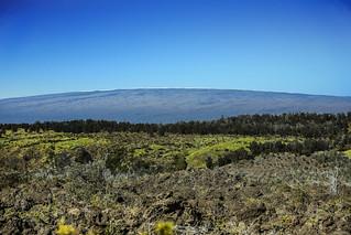 Mauna Loa From Highway 11 (Hawai'i Belt Road)