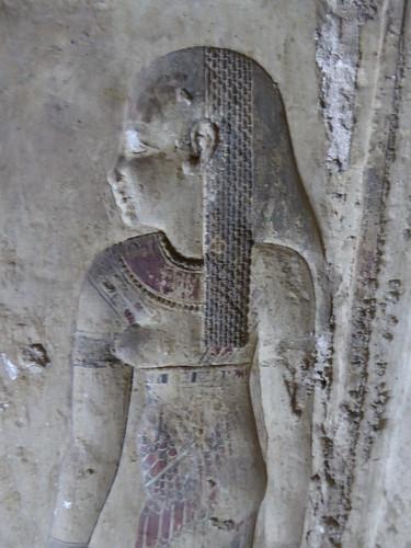 Goddess, Crypt, Dendera