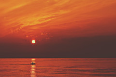 A new hope (cengizskpl) Tags: turkey akdeniz sea sun sky clouds reflection fisherman sunrise nikon7200 1855 grouptripod