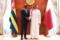 Visite à Doha de Robert Dussey (republicoftogo.com) Tags: togo doha qatar robert dussey