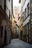 Lucca - Torre Guinigi (bautisterias) Tags: italy italia italien italie tuscany toscana toscane renaissance rinascimento lucca street alley alleyway backstreet quiet serene city