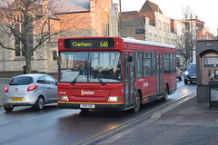 LDP198 - 646 Cranham (3) (Gellico) Tags: go ahead london blue triangle bus route 646 cranham romford plaxton pointer dennis dart ldp 198