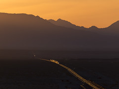Another Day, Another Train (zwsplac) Tags: bnsf railway transcon needles subdivision bagdad california mojave desert sunrise mountains hills glint shot intermodal railroad train doublestack