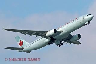 A330-343E C-GHKX AIR CANADA