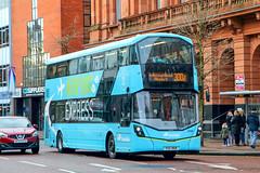 2109 FGZ3109 Ulsterbus (busmanscotland) Tags: 2109 fgz3109 ulsterbus fgz 3109 volvo b5tl wright eclipse gemini airport express belfast international