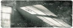 (giggie larue) Tags: shadowsandlight window wall myatticroom patsyshome monochrome pghwinter201718