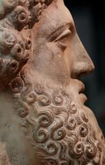Head Of Zeus (peterkelly) Tags: digital ontario canada northamerica canon 6d rom royalontariomuseum bust zeus beard profile sculpture