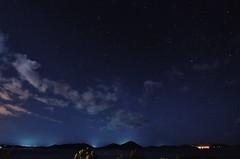Nighty night flickr friends ! (december*sun) Tags: night sea stars nikon tamron starrynight nightphotography