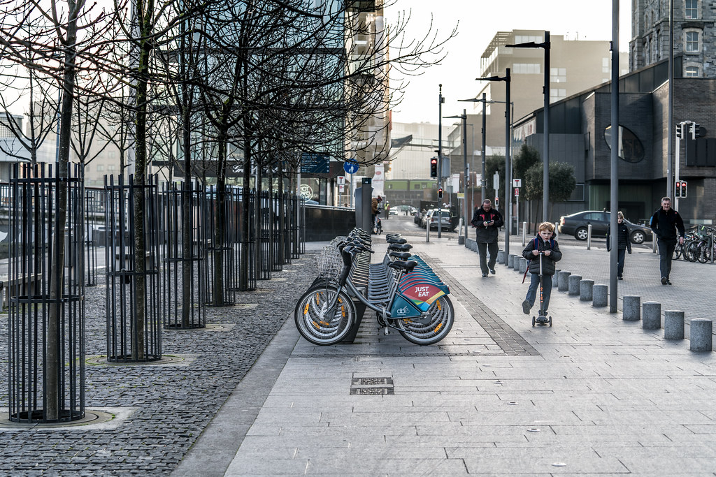 DUBLIN BIKES DOCKING STATION 69 [JANUARY 2018]-136359