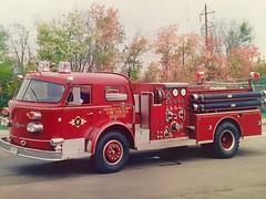 Champaign University of Illinois Fire Academy. (Chicago Rail Head) Tags: schooling training americanlafrance pumper fireengine education fireapparatus champaignil