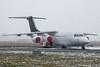 IMG_8532 (Al Henderson) Tags: airport aviation avro bae146 bedfordshire cranfield e3377 egtc gcfab planes rj100 snow winter