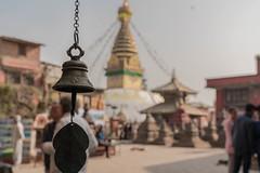 Monkey temple, Kathmandu, Nepal (Sajivrochergurung) Tags: buddhist spiritual stupa travel kathmandu nepal temple