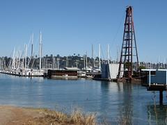 Sausalito, CA, Harbor Scene (Mary Warren 10.0+ Million Views) Tags: sausalitoca sanfranciscobay water harbor docks boats sailboats