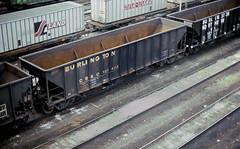 CB&Q Class HT-13D 161405 (Chuck Zeiler) Tags: cbq class ht13d 161405 burlington railroad hopper freight car cicero train chuckzeiler chz