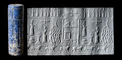 Sadigh-Gallery-Royal-Persian-Lapis-Seal (Sadigh Gallery) Tags: zoroastrianism ancient religions persian lapislazuli iran sadigh gallery lions