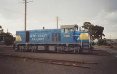 T385 North Geelong Loco (tommyg1994) Tags: west coast railway wcr emd b t x a s n class vline warrnambool geelong b61 b65 t369 x41 s300 s311 s302 b76 a71 pcp bz acz bs brs excursion train australia victoria freight fa pco pcj