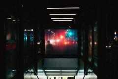 Midnight Train (ewitsoe) Tags: cinematic thriller dark night city lights shadow edge film ewitsoe warsaw poland canon eos 6dii street urban cityscape movies ligths scared train station