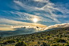 Burned Land (HDR) (panos_adgr) Tags: sony a6000 greece attica parnitha landscape nature horizon sunset sun sunny clous sky field mountains view hdr