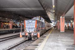 SM42-3005 Kraków Główny (rokiczaaa) Tags: sm42 modernized diesel locomotive pkpintercity rail railway cracow poland station city winter snow