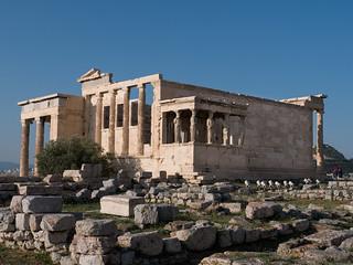 Het Erechtheion - Acropolis - Athene