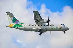 F-OIXH 🇫🇷 (Maxime C-M ✈) Tags: fly travel caribbean martinique island colors sky clouds beautiful passion aviation exotic tropical little