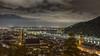 "Heidelberg by night (Markus Jaschke) Tags: heidelberg fuji ""fujixe3"" nightimage nachtbild clouds city wolken himmel sky stadt badenwürttemberg neckar 27mm"