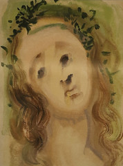 Salvador Dalì (Salvador Domènec Felip Jacint Dalí i Domènech 1904-1989) - La Vergine Maria - La Divina Commedia (acquarello 1950-1954) - Historian Gallery - Gavirate (Varese) (raffaele pagani (away for a while)) Tags: salvadordalì salvadordomènecfelipjacintdalíidomènech ladivinacommedia dantealighieri virgilio virgil labibbia thebible mostra exhibition acquarello watercolor serigrafia screenprinting oltronaallago gavirate provinciadivarese canon