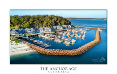 The Anchorage  Marina Port Stephens Australia (sugarbellaleah) Tags: marina boats yachts moored beach portstephens vacation travel tourism holiday anchorage luxury getaway leisure recreation sailing boating watersport relax landscape seascape aerial view scenic drone buildings hotel spa resort newsouthwales australia au