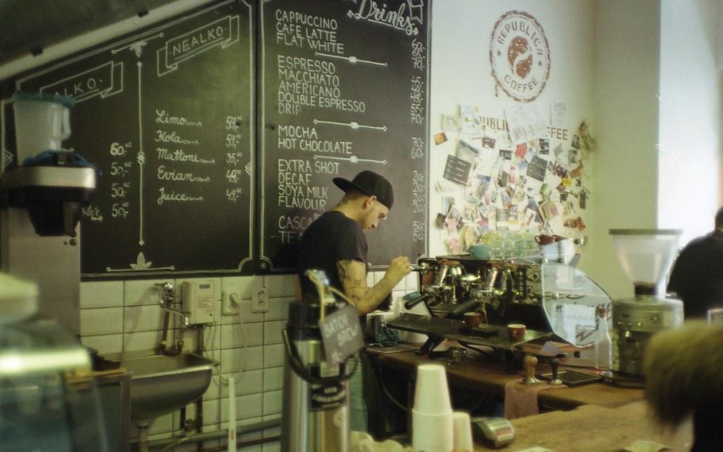Coffee Room Praha Menu