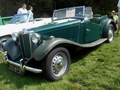 1953 MG TD (splattergraphics) Tags: 1953 mg td mgtd carshow hagleymuseum wilmingtonde