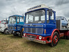 Welland 2017 (Ben Matthews1992) Tags: classic commercial lorry truck wagon old vintage historic 1969 leyland super comet rdf669g tipper 1968 aec mercury mmr217g ergo welland rally show preserved preservation vehicle transport haulage britain british