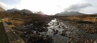 Cuillin Mountains from Sligachan