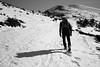 caminata (Ibarnavarro) Tags: blackandwhite sanlorenzo monte mountain nieve raquetas