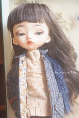 Moka (Sometimes Dolls) Tags: bjd abjd dimdoll dollinmind trisha handmde dollclothes sewingdollclothes sewingfordolls coat