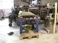 Me109 G2  WrkNr 14055  NI + BY (flyhistorie) Tags: daimlerbenz db605 engine switch wiring system me109 bf109 messerschmitt sola flymuseum jærmuseet luftwaffe jg5 restoration original interiør cable workshop verksted motor