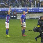 Linares y Christian celebrando la victoria thumbnail