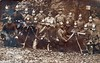 From the family album (Schwanzus_Longus) Tags: old vintage photo photography postcard field post german germany great war world soldier soldiers batallion machine gun mg 08 mg08