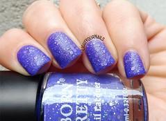 Bornpretty Thermal Nail Polish G001 Swan Lake (Simona - www.lightyournails.com) Tags: bornprettystore thermal blue esmalte smalto glitters vernis manicure unghie nails nailpolish nagellack naillacquer nailswatch