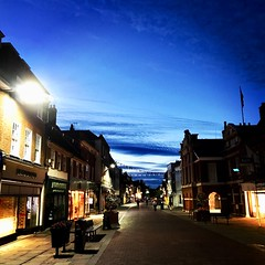 Chichester high street (keithericfoote) Tags: highstreet iphone7plus night lights town city chichester