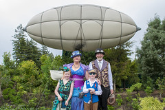 Huddleston Airship and Steampunk (hippynz) Tags: hamilton hamiltongardens huddlestonairship airship steampunk newzealand