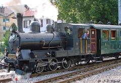 Loc vapeur G3/3 du LE (2) (jean-daniel david) Tags: locomotive vapeur train transport fumée noir vert arbre rails suisse suisseromande historique echallens lausanne