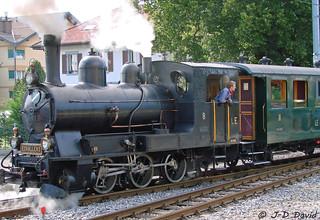 Loc vapeur G3/3 du LE (2)